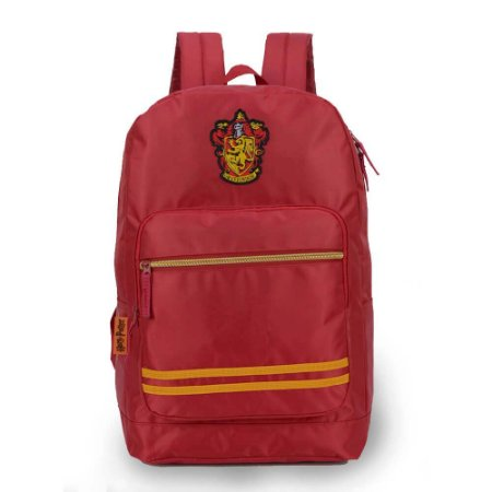 Mochila vermelha Grifinória - Harry Potter