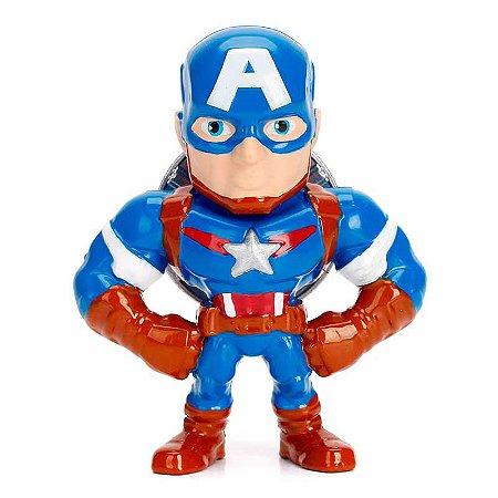 Boneco Metal Figure Capitão América - Marvel