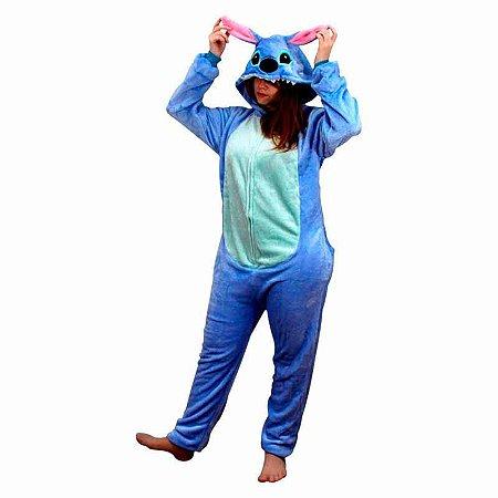 Pijama macacão - Stitch Disney