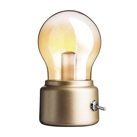 Mini luminária Lâmpada