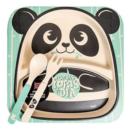 Conjunto papinha - Panda