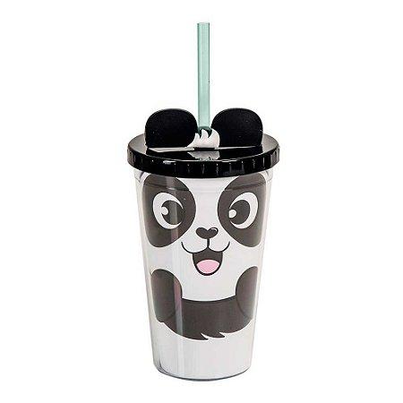 Mini copo canudo shape - Panda