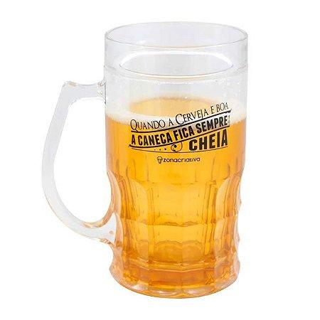 Caneco congelável Cerveja boa