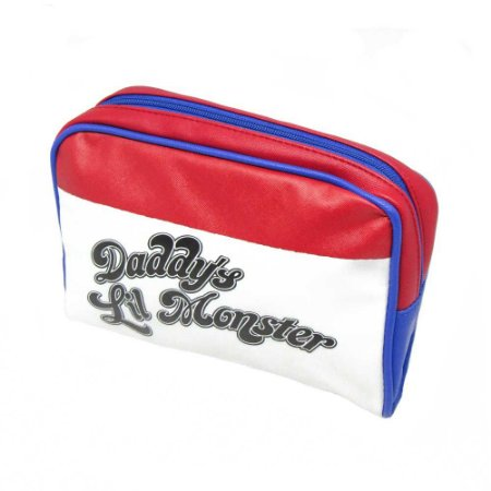 Necessaire Daddy's Lil Monster Arlequina - DC