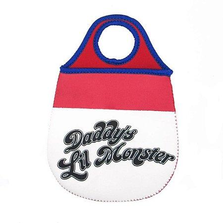 Lixeira para carro Daddy's Lil Monster Arlequina - DC