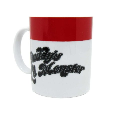 Caneca Daddy's Lil Monster Arlequina - DC