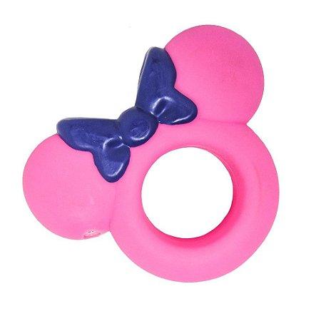 Mordedor para pet argola - Minnie Disney