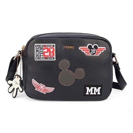 Bolsa transversal Patches - Mickey Disney