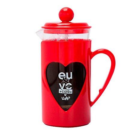Bule prensa de café - Eu & Vc