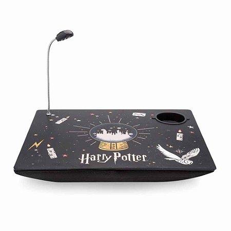 Bandeja laptop com luminária - Harry Potter