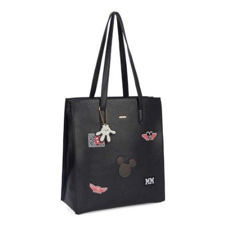 Bolsa de ombro Patches - Mickey Disney