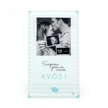Porta Retrato Cartão Surpresa Avós - Bebê