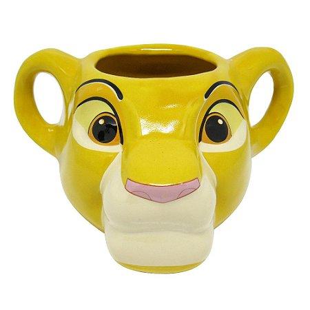 Caneca 3D Simba - Rei leão