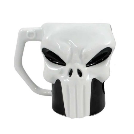 Caneca 3D Punisher - Marvel