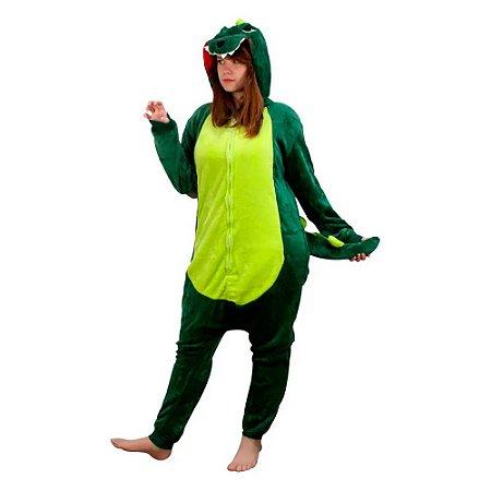 Pijama Macacão Dinossauro