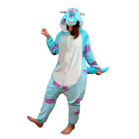 Pijama macacão Kigurumi Sulley - Disney