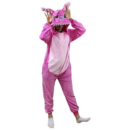 Pijama Macacão Angel - Stitch