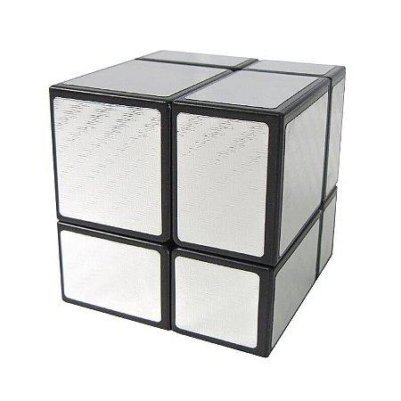 Cubo Magico Mirror Blocks Preto E Prata Jiehui