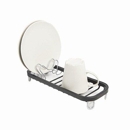 Escorredor de pratos mini preto Sinkin - Umbra Design