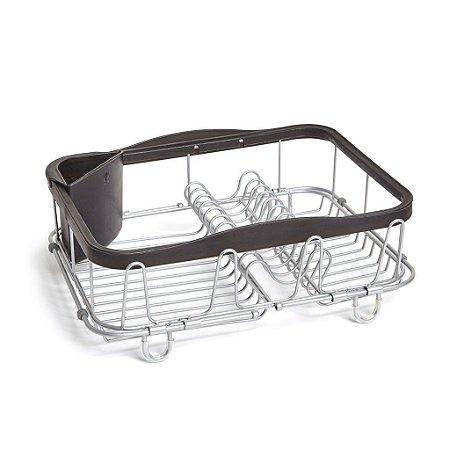 Escorredor de pratos multiuso preto - Umbra Design