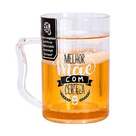 Mini caneco congelável Melhor mãe com cerveja