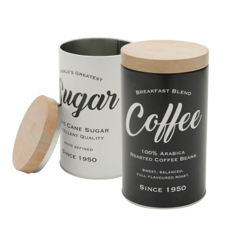 Kit latas coffee and sugar