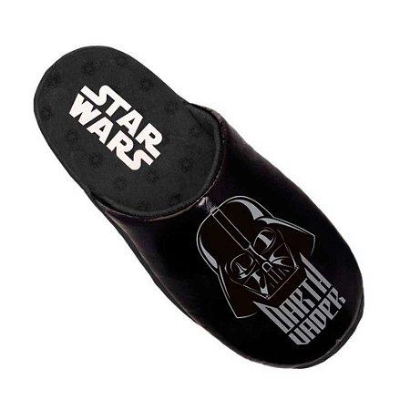 Pantufa chinelo preto Darth Vader - Star Wars