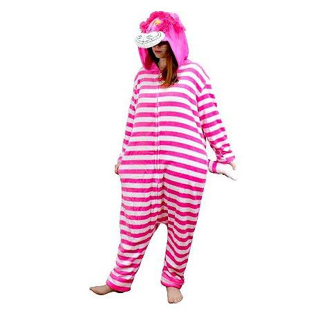 Pijama Macacão Gato Risonho
