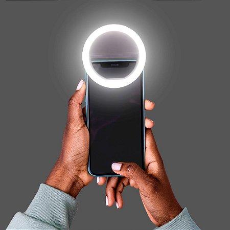 Clipe de luz para selfie- Led