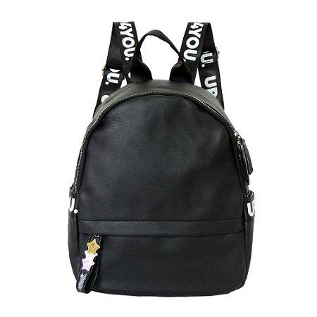 Bolsa mochila courino estrelas - Up4You