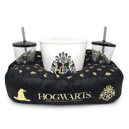 Almofada pipoca hogwarts - Harry Potter