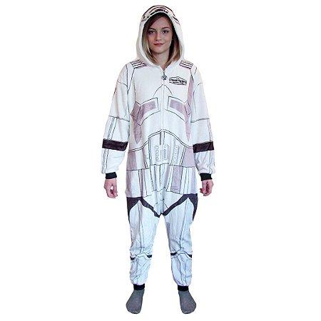 Pijama Macacão Kigurumi Stormtrooper - Star Wars