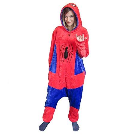 Pijama Macacão Kigurumi Homem aranha - Marvel
