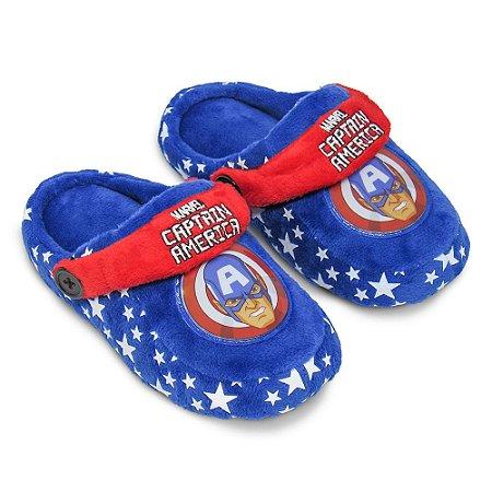 Pantufa kick infantil - Capitão America