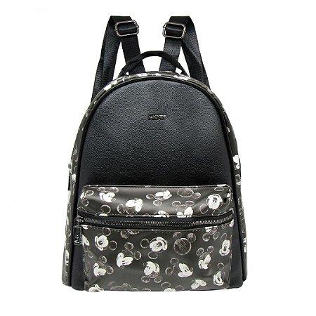 Bolsa mochila courino faces - Mickey Mouse