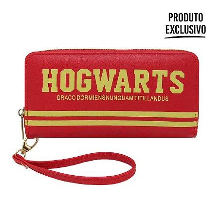 Carteira Alça Grande Hogwarts - Harry Potter Original