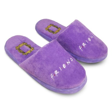 Pantufa Chinelo Roxo - Friends