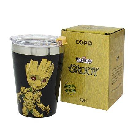 Copo Viagem Snap 300ml Groot - Marvel