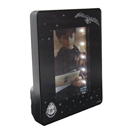 Porta Retrato Espelho C/ Led 13x18cm - Harry Potter Original