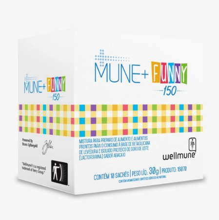 Mune + Funny 150 / 10 sachês / Peso Líq.: 30g