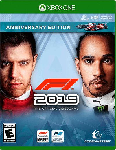 F1 2019 Xbox One Mídia Digital
