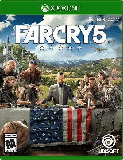 Far Cry 5 Xbox One Mídia Digital