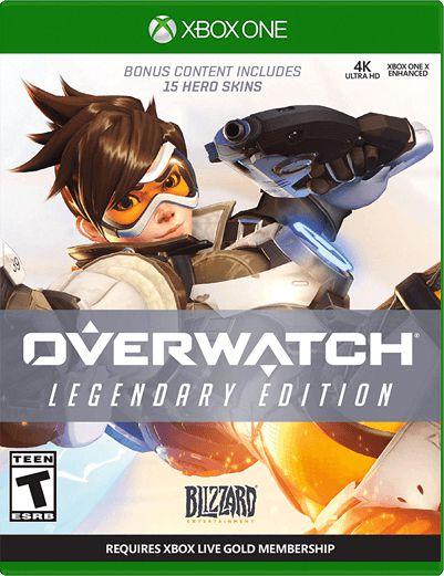 Overwatch Legendary Edition Xbox One Mídia Digital