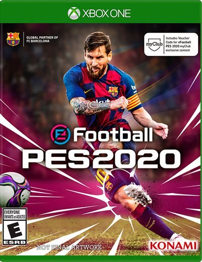 PES 2020 Xbox One Mídia Digital