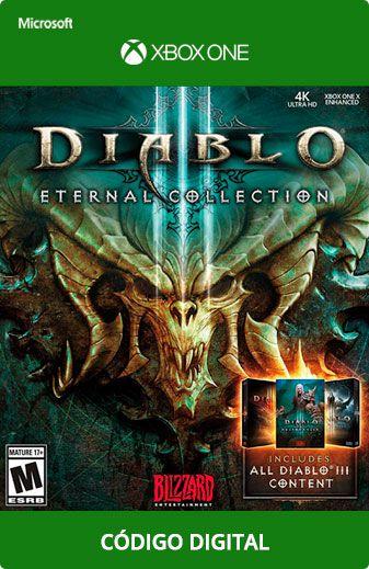 Diablo III Eternal Collection Xbox One Código