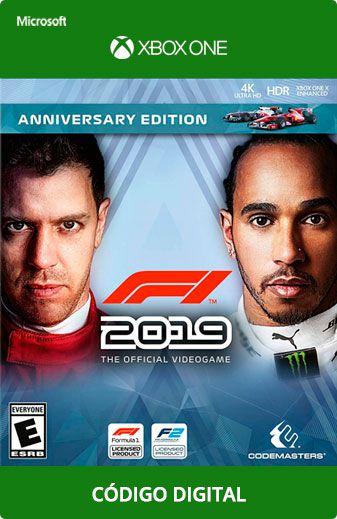 F1 2019 Xbox One Código
