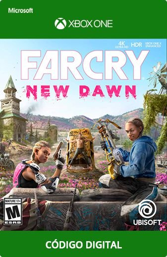 Far Cry New Dawn Xbox One Código