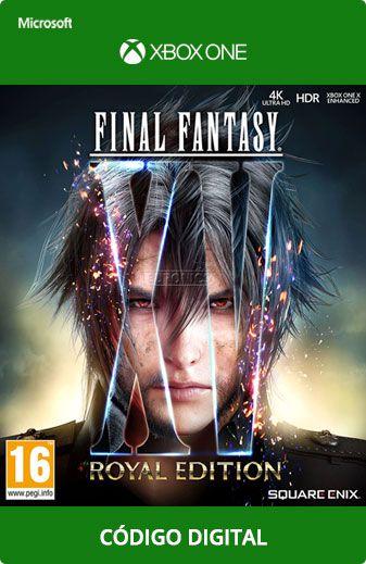 Final Fantasy XV Xbox One Código