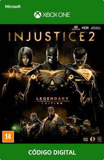 Injustice 2 Xbox One Código