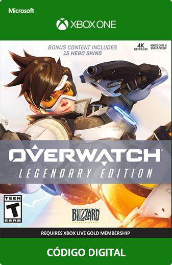 Overwatch Legendary Xbox One Código